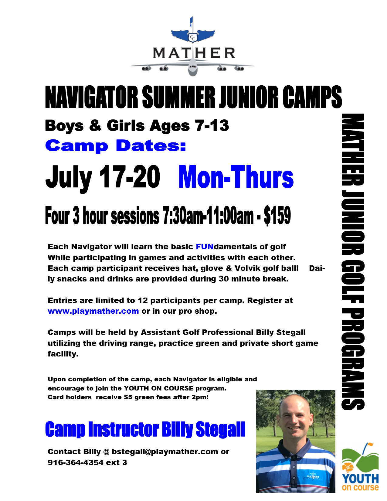 BillyS Jr Camps 2017